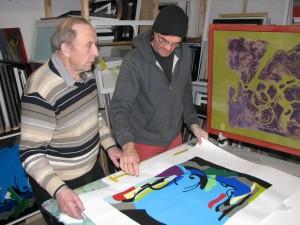 Die Kooperation mit Eduard Vodnjov