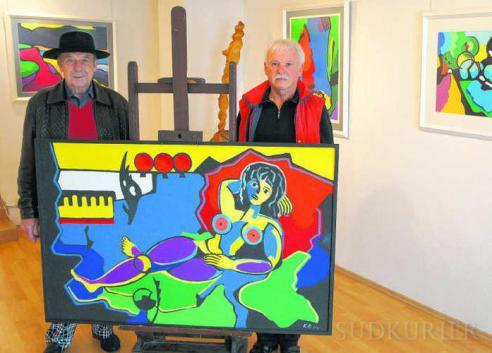 """Ausstellung """"Faben hören"""" mit Bildern von Konrad Niemeier"""